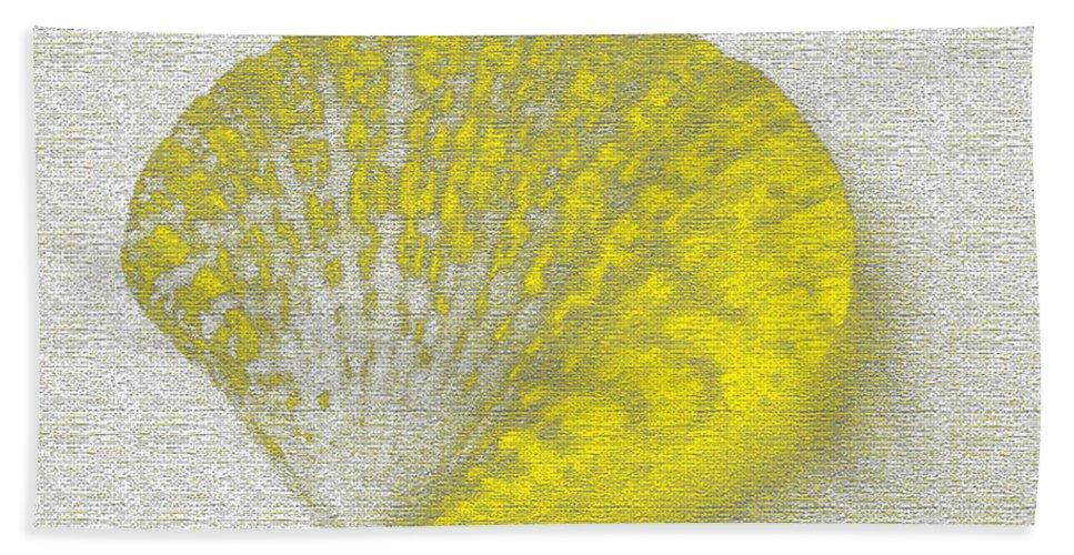 Yellow Beach Towel featuring the digital art Yellow by Carol Lynch