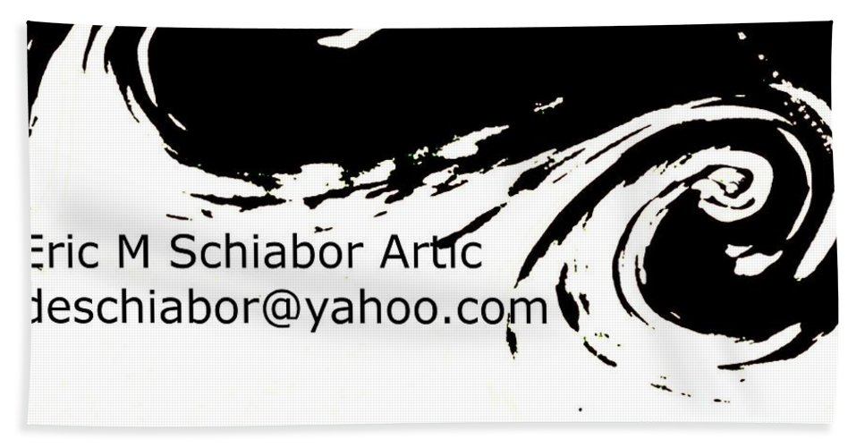 Yellow Beach Towel featuring the photograph Yellow Wave Abstract by Eric Schiabor