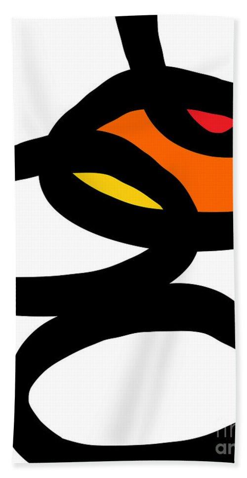 Zen Beach Towel featuring the painting Zen Sunrise by Linda Woods