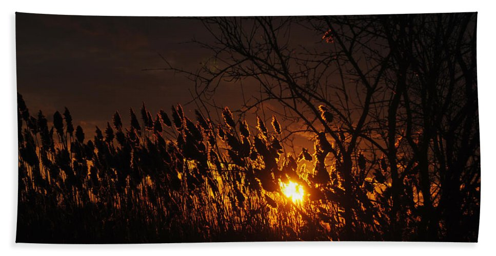 Beach Towel featuring the photograph 06 Sunset by Michael Frank Jr