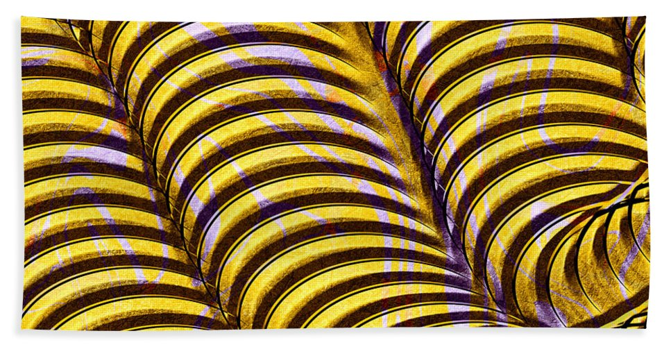 Abstract Beach Towel featuring the digital art 0647 Abstract Thought by Chowdary V Arikatla