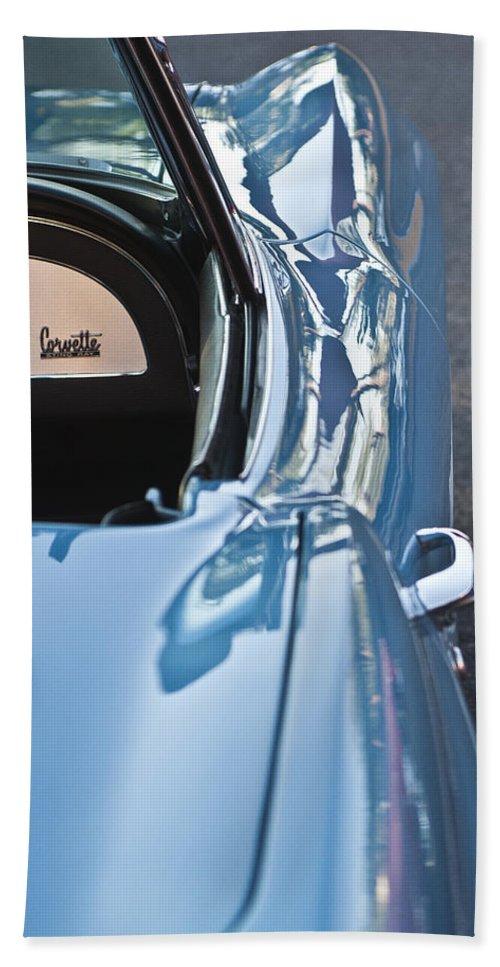 1967 Chevrolet Corvette Beach Towel featuring the photograph 1967 Chevrolet Corvette by Jill Reger