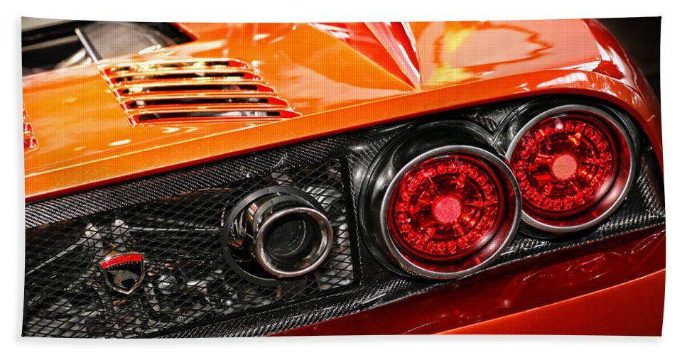 2012 Beach Towel featuring the photograph 2012 Falcon Motor Sports F7 Series 1 by Gordon Dean II