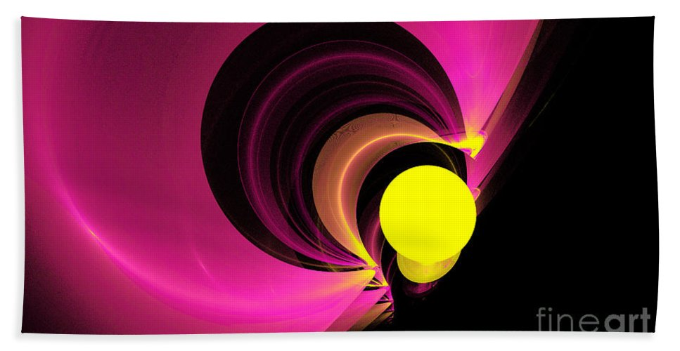 Fractal Digital Art Beach Towel featuring the photograph Abstract Twenty-four by Mike Nellums
