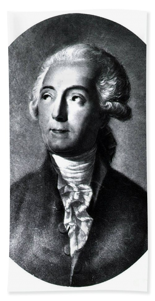 History Beach Towel featuring the photograph Antoine-laurent Lavoisier, French by Science Source