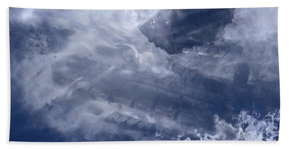 Birth Beach Towel featuring the painting Birth Of A Dream by Christopher Gaston