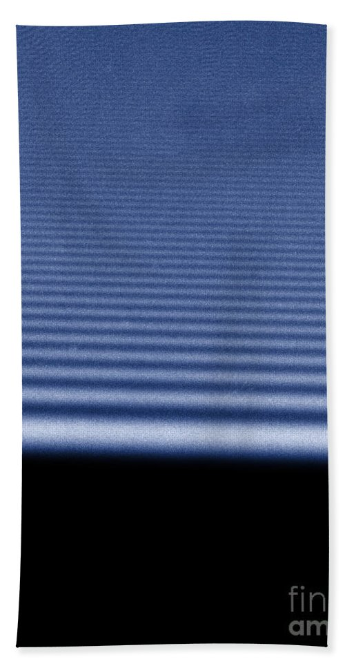 Beam Beach Towel featuring the photograph Diffraction Of Laser Beam by Omikron