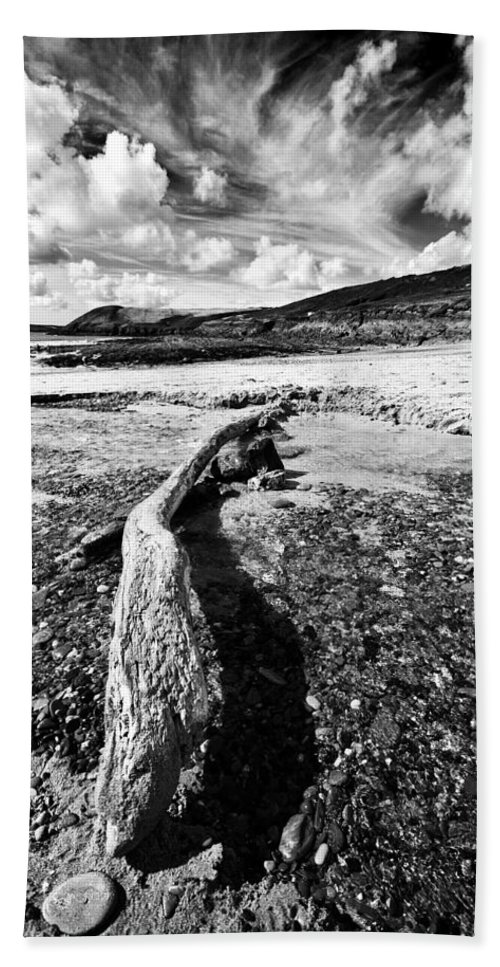 Driftwood Beach Towel featuring the photograph Driftwood by Steve Purnell