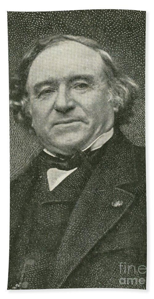Science Beach Towel featuring the photograph Jean Baptiste Dumas, French Chemist by Science Source