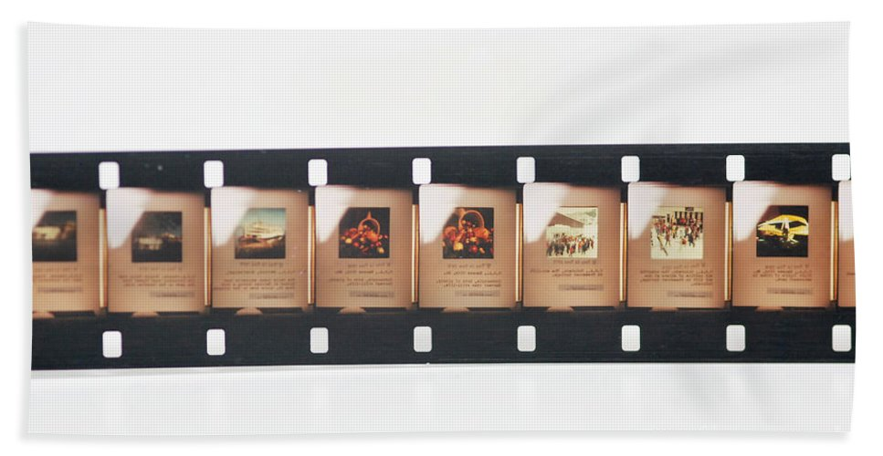 Microfilm Beach Towel featuring the photograph Microfilm by Photo Researchers, Inc.