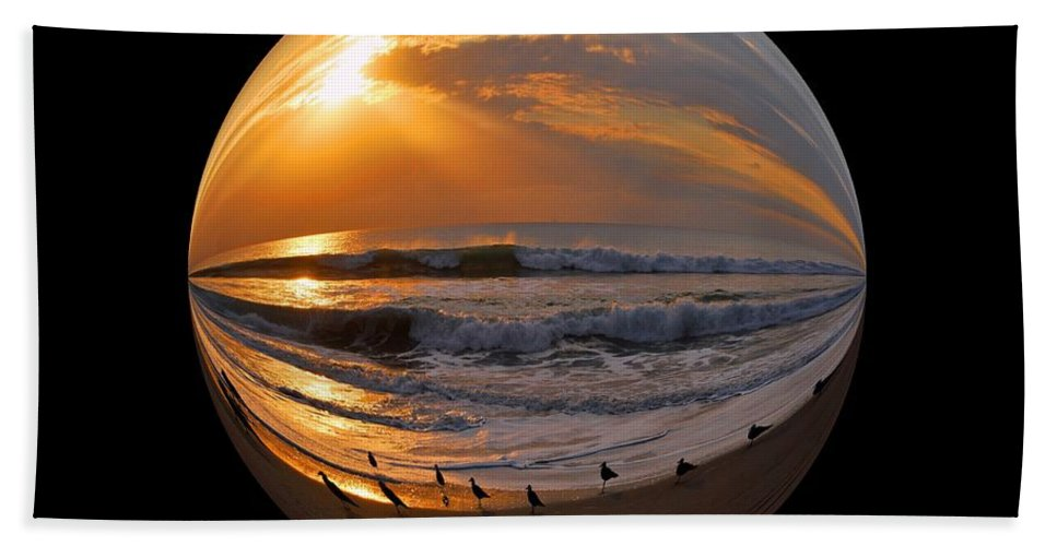 Beach Beach Towel featuring the photograph My World by Lynn Bauer