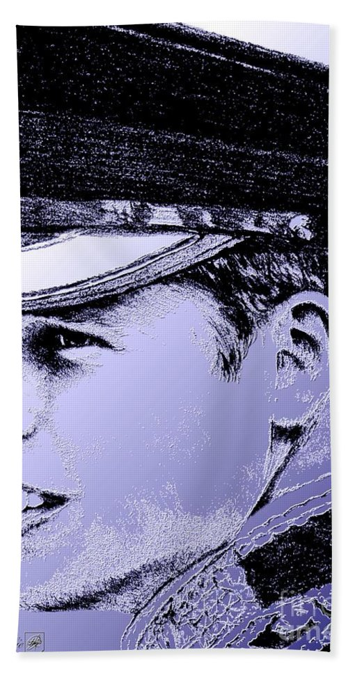 Prince William Beach Towel featuring the digital art Prince William In 2011 by J McCombie