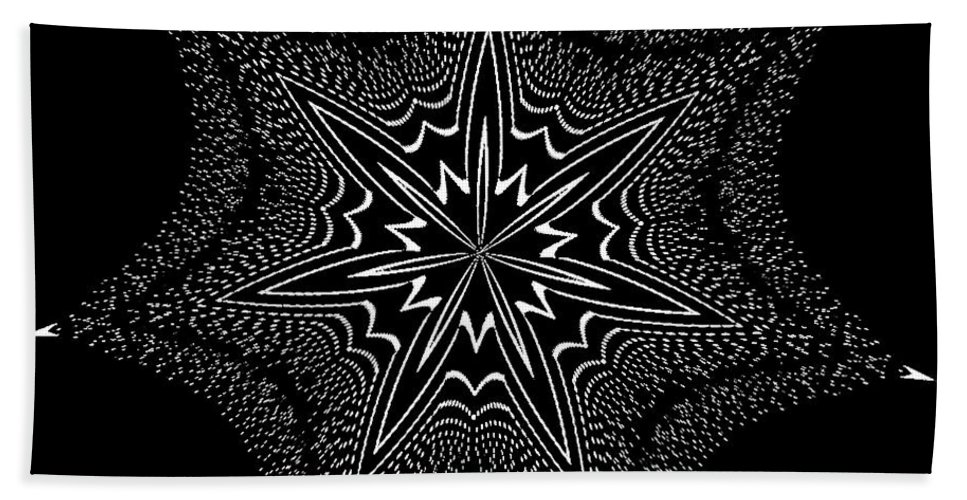 Kaleidoscope Beach Towel featuring the photograph Star Fish Kaleidoscope by Donna Brown