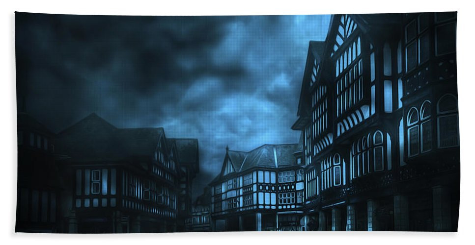 City Beach Towel featuring the photograph Stormy Weather by Svetlana Sewell