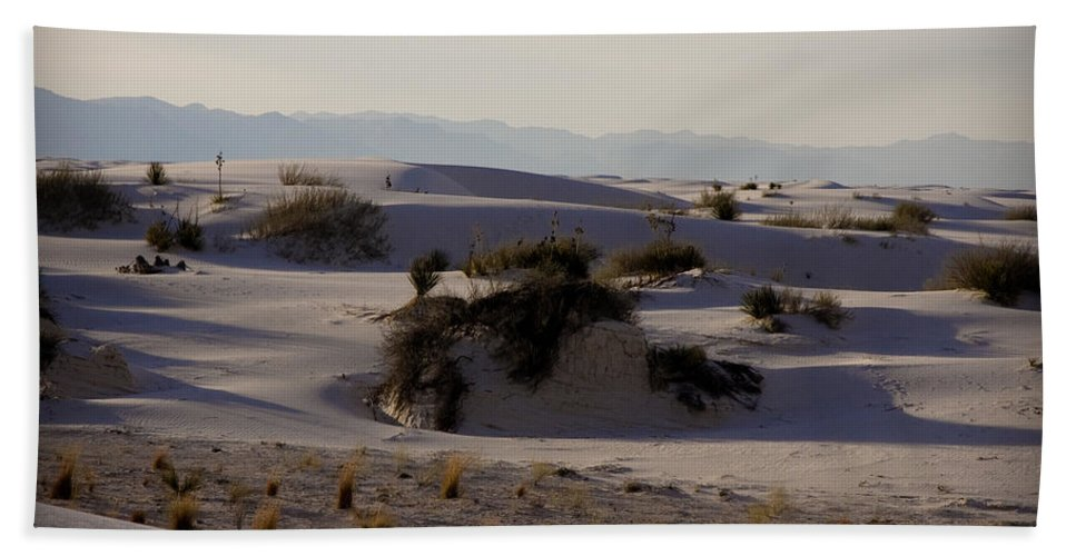 New Mexico Beach Towel featuring the photograph White Sands 1 by Sean Wray