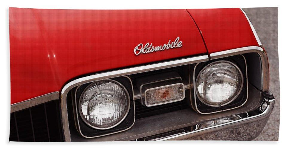 1967 Beach Towel featuring the photograph 1968 Oldsmobile Cutlass Supreme by Gordon Dean II
