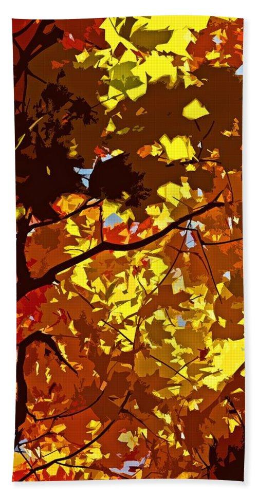 Season Beach Towel featuring the photograph Beautiful Fall ... by Juergen Weiss