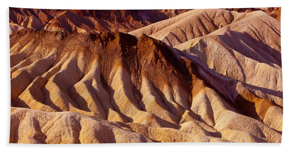 America Beach Towel featuring the photograph Death Valley by Brian Jannsen