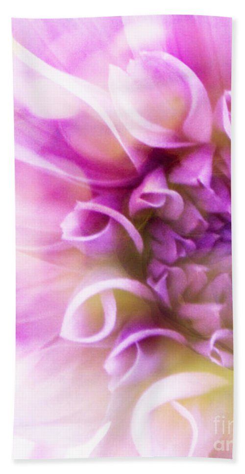 Flower Beach Towel featuring the photograph Fantasy by Traci Cottingham