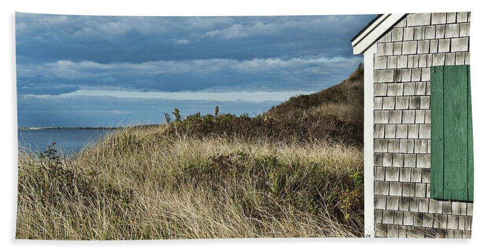 Cape Cod Beach Towel featuring the photograph Beach Cottage by John Greim