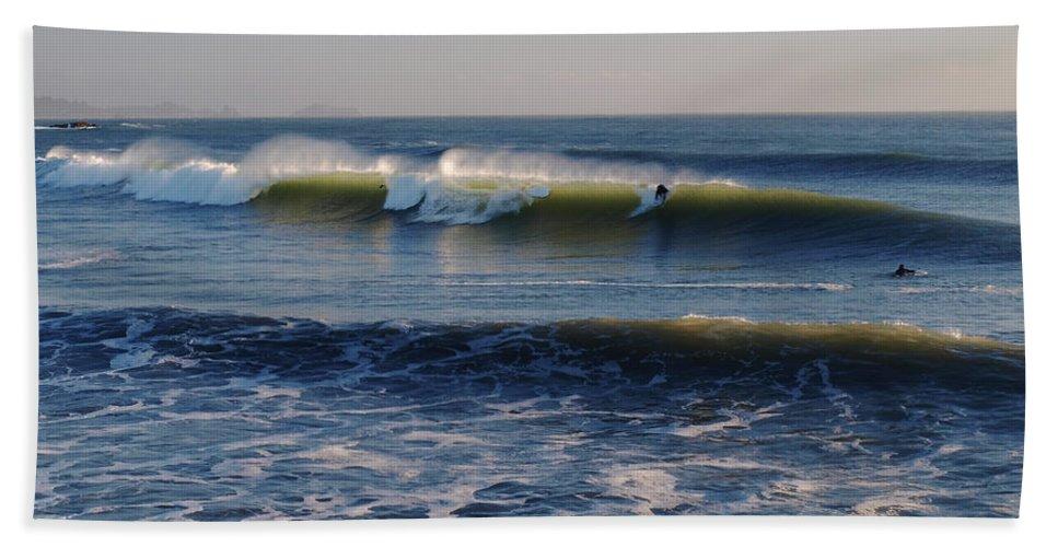 Ocean Beach Towel featuring the photograph Surfers Make The Ocean Better Series by Teri Schuster