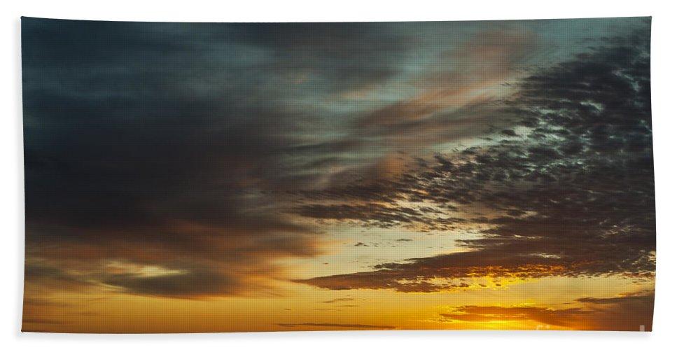 Cape Cod Beach Towel featuring the photograph Ocean Sunrise by John Greim