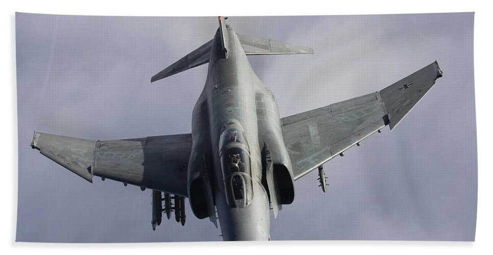 Germany Beach Towel featuring the photograph Luftwaffe F-4f Phantom II by Gert Kromhout