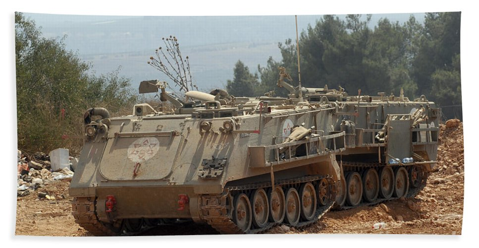 A M113 Armored Personnel Carrier Beach Sheet For Sale By Andrew Chittock
