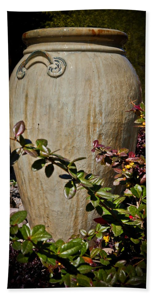 Vase Beach Towel featuring the photograph A Taste Of Italy by Athena Mckinzie