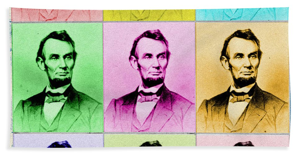 Abe Lincoln Beach Towel featuring the photograph Abraham Lincoln by Andrew Fare