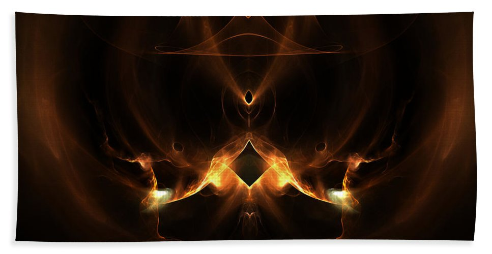Fractal Digital Art Beach Towel featuring the photograph Absgtract Sixty-eight by Mike Nellums