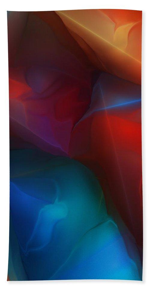Fine Art Beach Towel featuring the digital art Abstract 012712 by David Lane