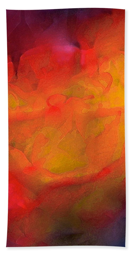 Abstract Beach Towel featuring the photograph Abstract 279 by Pamela Cooper