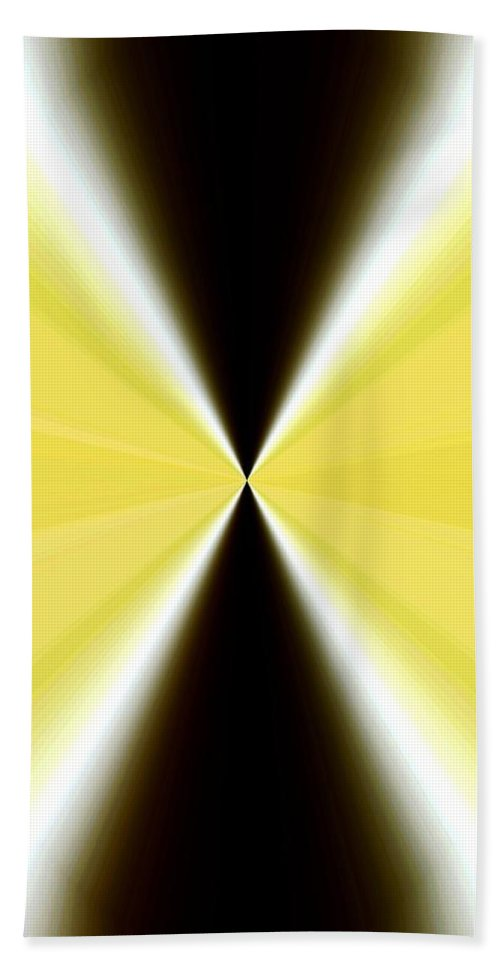 Abstract Fusion Beach Towel featuring the digital art Abstract Fusion 65 by Will Borden