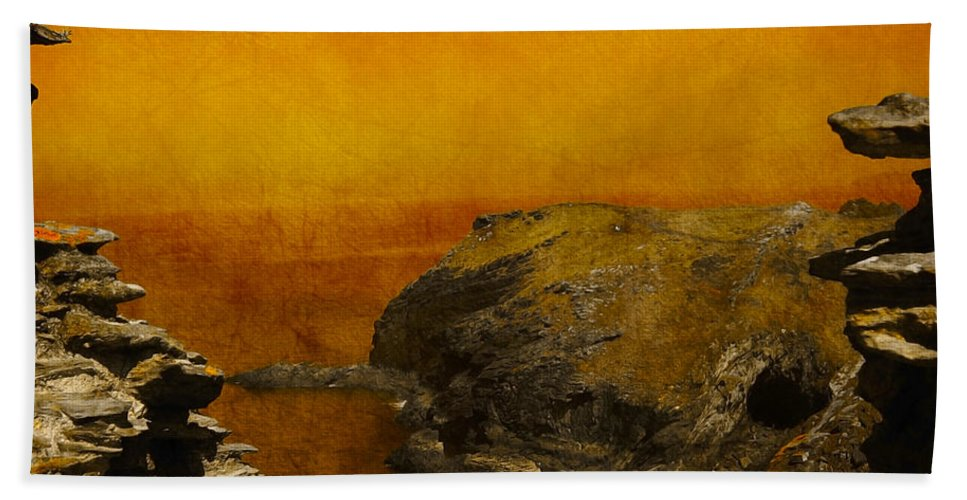 Abstract Beach Towel featuring the photograph Abstract View by Svetlana Sewell