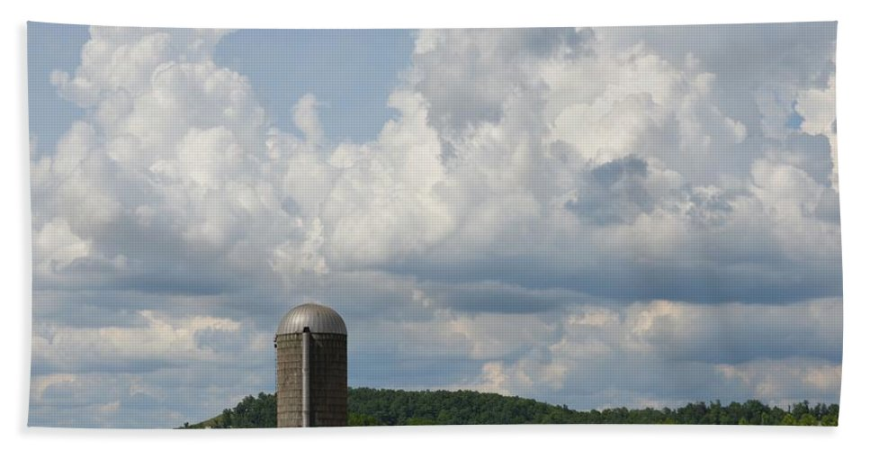 American Beach Towel featuring the photograph American Country Life by Maria Urso