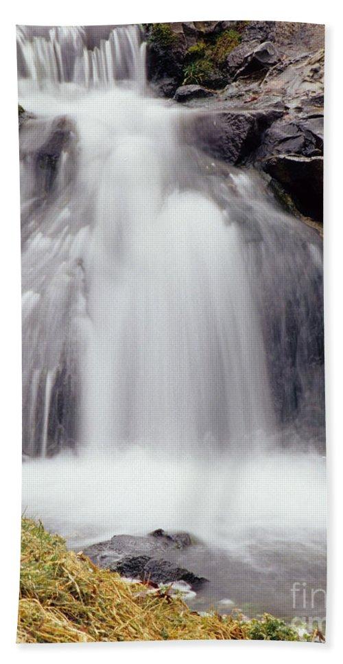 Spokane Wa Beach Towel featuring the photograph Angel Hair by Sharon Elliott