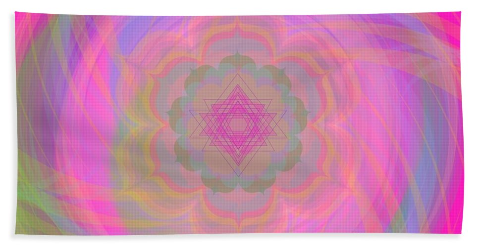 Digital Beach Towel featuring the digital art Anima 2012 by Kathryn Strick