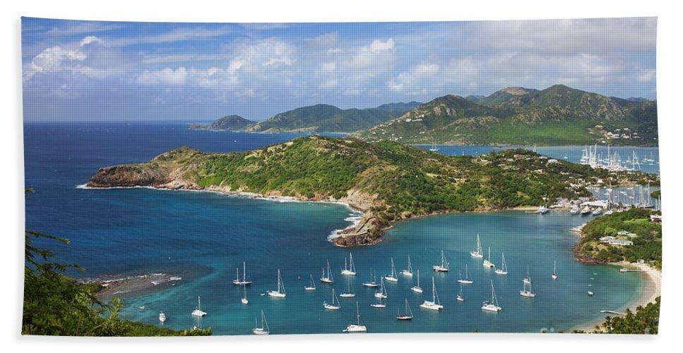 Antigua Beach Towel featuring the photograph Antigua by Brian Jannsen