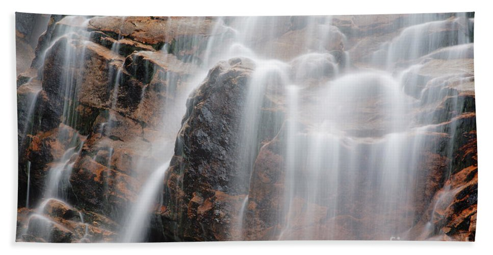 Arethusa Falls Beach Towel featuring the photograph Arethusa Falls - Crawford Notch State Park New Hampshire Usa by Erin Paul Donovan