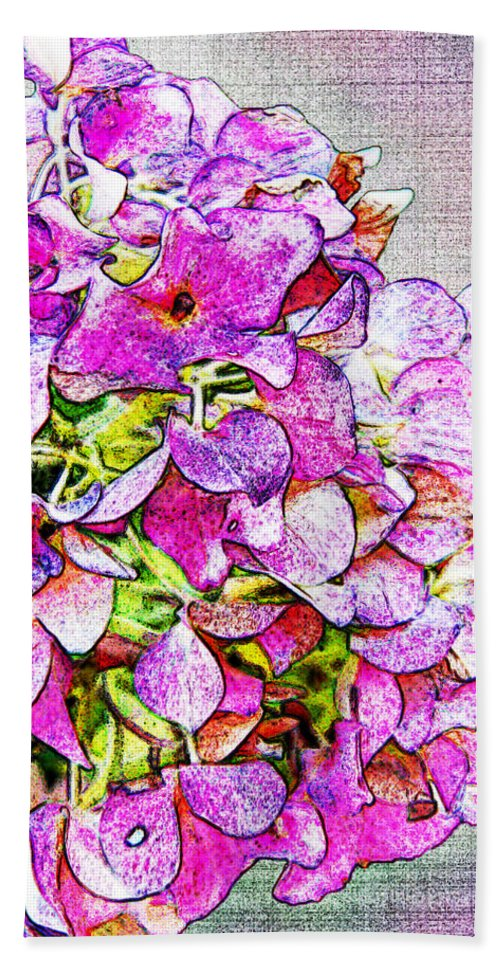 Nature Beach Towel featuring the photograph Autumn Purple II by Debbie Portwood