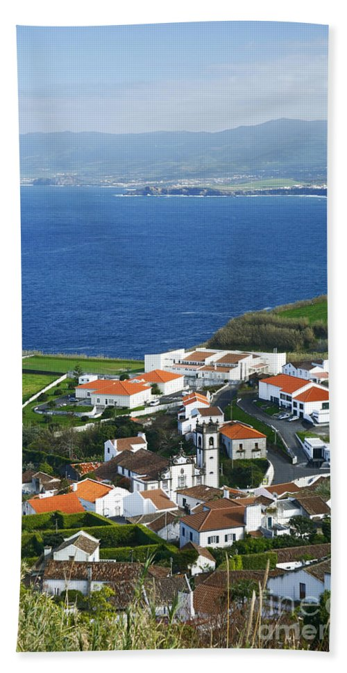 Village Beach Towel featuring the photograph Azores by Gaspar Avila