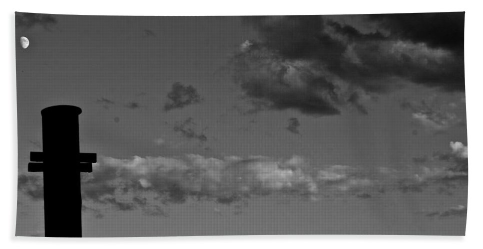 Babel Beach Towel featuring the photograph ...babel...to The Moon by Donato Iannuzzi