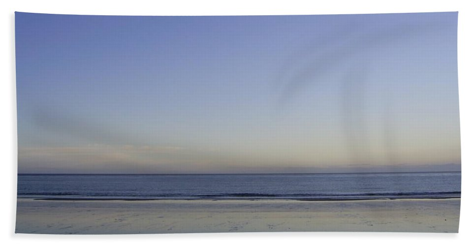Baby Blue Beach Towel featuring the photograph Baby Blue by Barbara St Jean