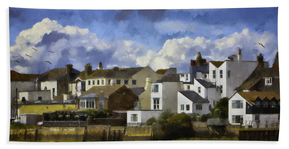 Shoreham Beach Towel featuring the photograph Back To Shoreham by Chris Lord