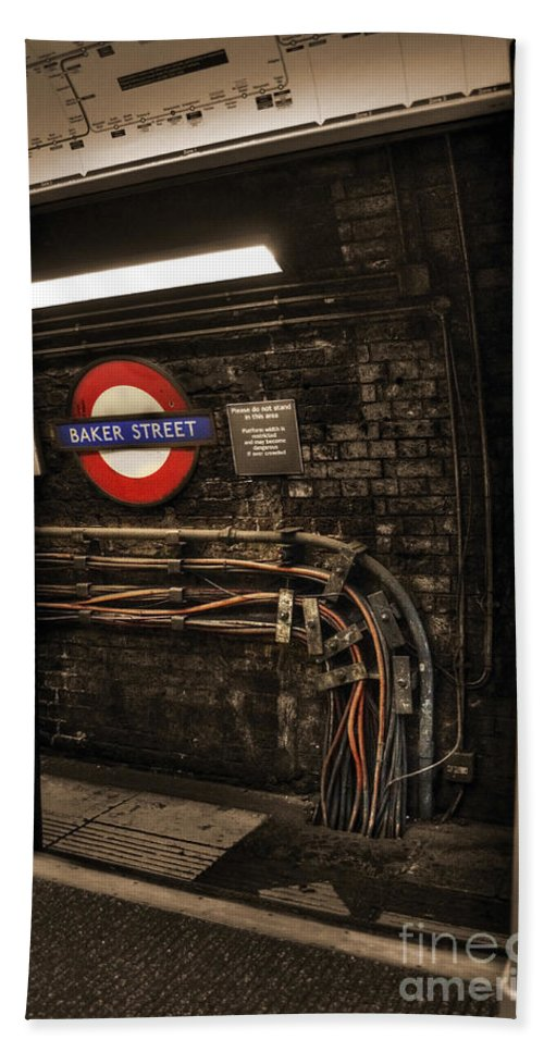 London Beach Towel featuring the photograph Baker St by Rob Hawkins