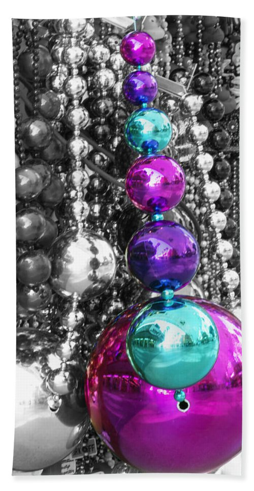 Baubles Beach Towel featuring the photograph Baubles Bangles And Beads by Linda Dunn