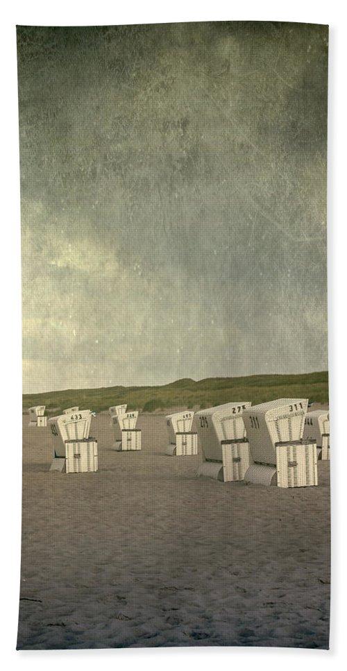 Beach Beach Towel featuring the photograph Beach Chairs by Joana Kruse