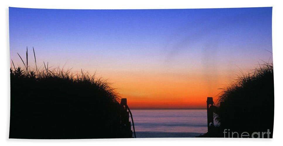cape Cod Beach Towel featuring the photograph Beach Sunrise by John Greim