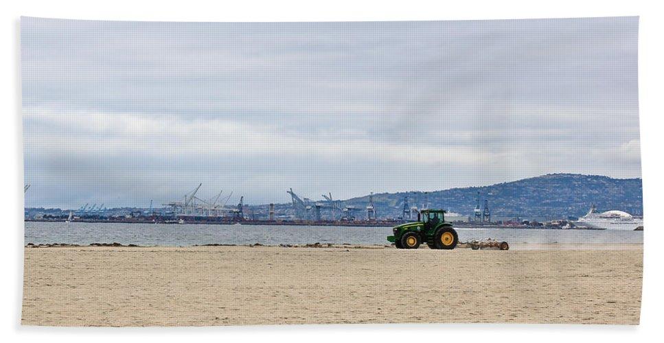 Beach Towel featuring the photograph Beach Sweep by Heidi Smith